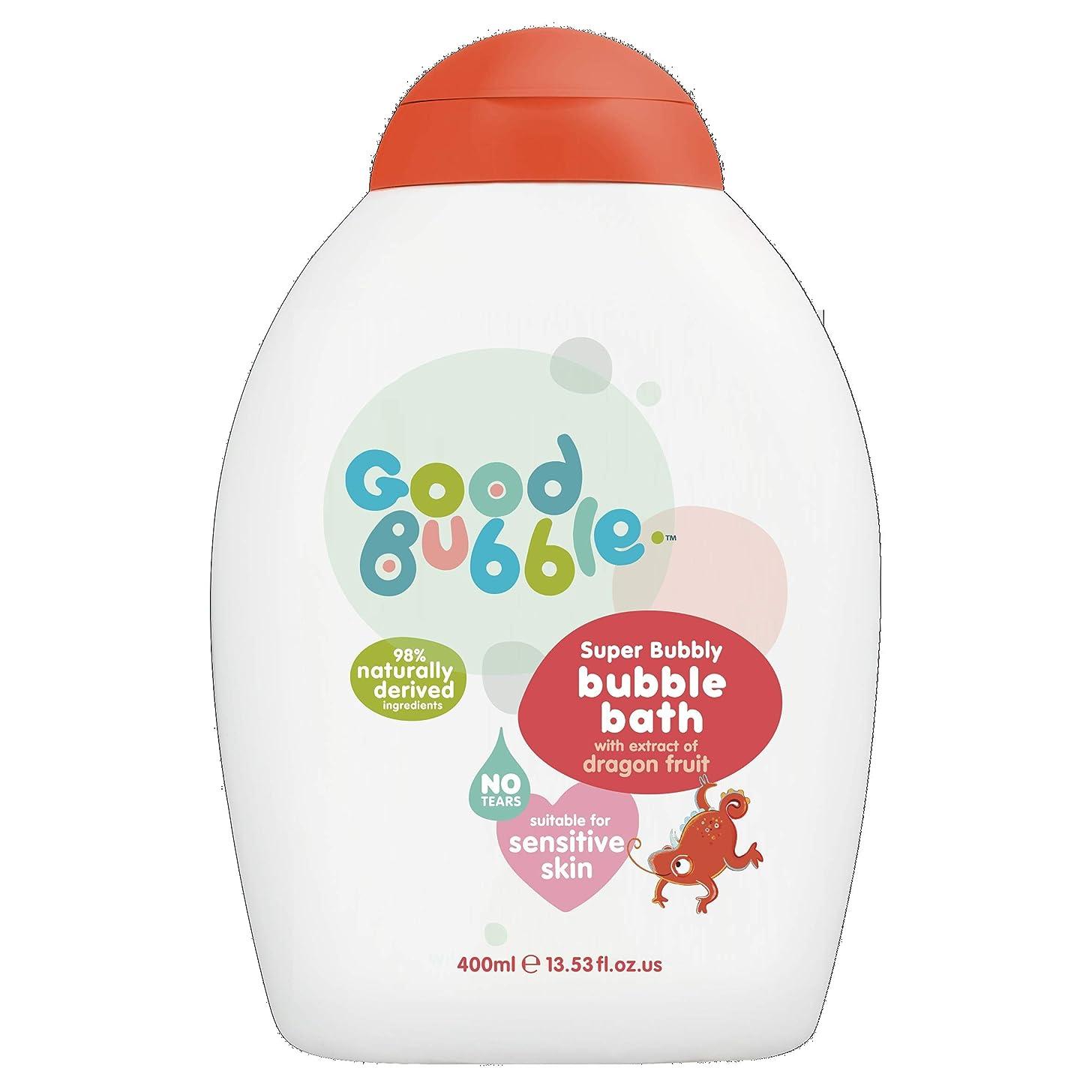 ラジウムリダクター俳優Good Bubble - Bubble Bath - Super Bubbly with Dragon Fruit Extract - 400ml