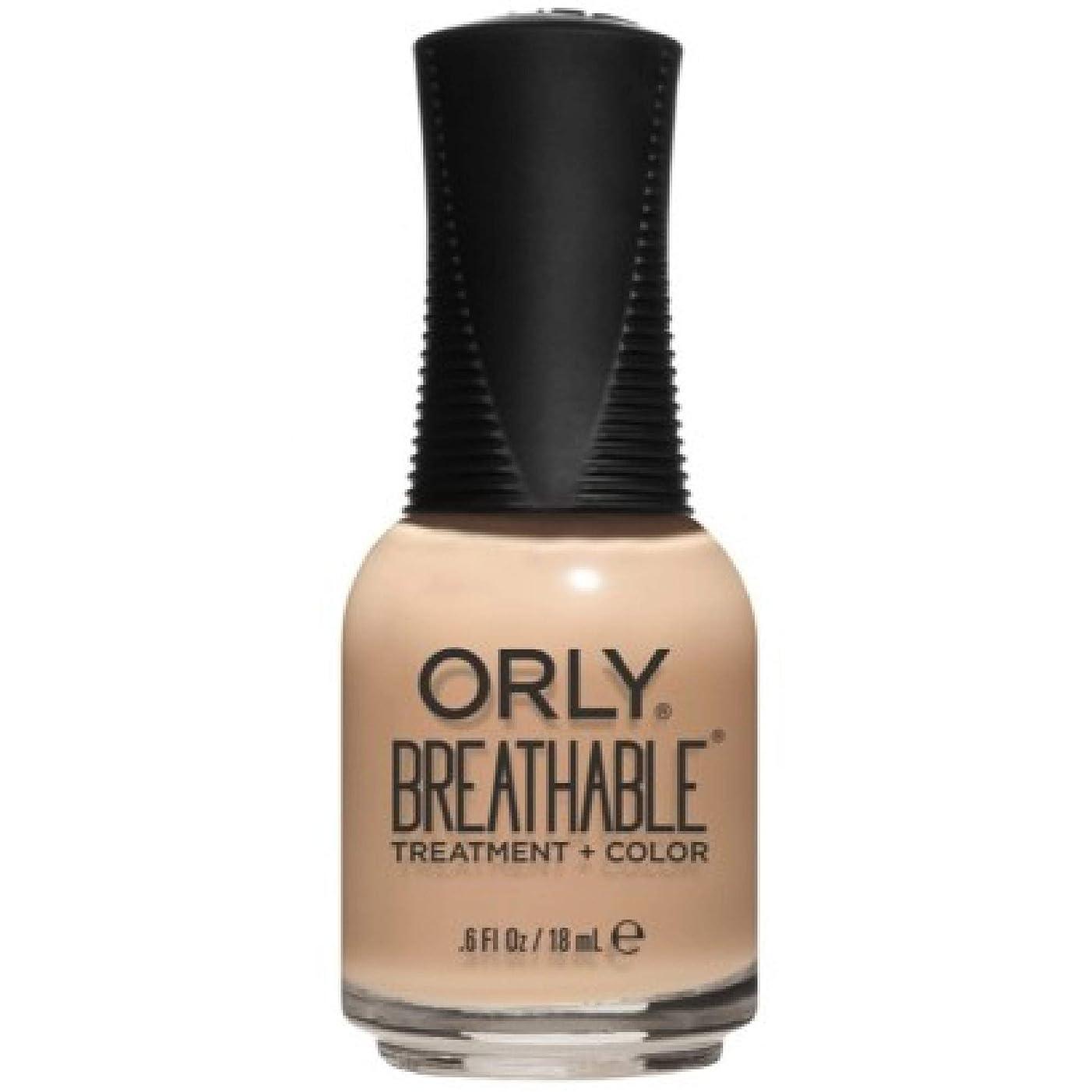 ペニー間違いなく暗くするOrly Breathable Nail Lacquer - Treatment + Color - Mind, Body, Spirit - 0.6 oz / 18 mL