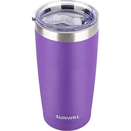 Camping Traveling 316 20 Oz Tumbler-Rambler Thermal Coffee Travel Cup for Hiking Double Wall Vacuum Insulated Coffee Mug Stainless Steel Water Lid Water Bottle-Gifts for Her Cupbase Drinkware
