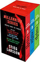 Millennium series 3 Books Collection Box Set by Stieg Larsson (Books 1 - 3) (The Girl With the Dragon Tattoo, The Girl Who...