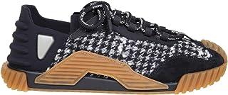 Luxury Fashion   Dolce E Gabbana Uomo CS1810AW24889697 Nero Tessuto Sneakers   Autunno-Inverno 20