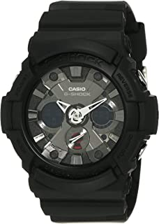 G-SHOCK Men's GA201-1 Year-Round Analog-Digital Automatic Black Watch