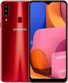 Samsung Galaxy A20s Dual SIM - 32GB, 3GB RAM, 4G LTE, Red, UAE Version