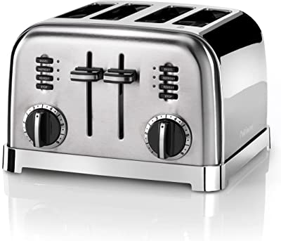 Cuisinart Signature Collection 4 Slot Toaster   Stainless Steel   CPT180BPU