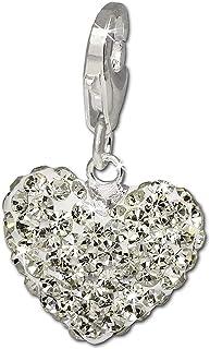avec cristaux incrust/és QUADIVA Bijou de sac Chouette Grand Cristal pour femme couleur: or-blanc