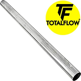 "TOTALFLOW TF-P225 409 Stainless Steel Straight Tube 2.25"" O.D. 48"" Length Exhaust Pipe (Outer Diameter)"