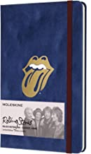 """Moleskine Limited Edition The Rolling Stones Notebook, Hard Cover, Large (5"""" x 8.25"""") Ruled/Lined, 240 Pages"""