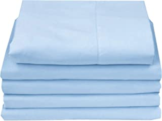4U LIFE Flat Sheets(5-Pack)-Ultra Soft & Comfortable Microfiber 5-Pack King Blue 4U-5PACK-FLT