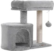 FEANDREA Cat Tree with Sisal-Covered Scratching Posts for Kitten