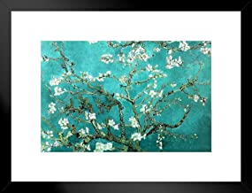 Vincent Van Gogh Almond Blossom Branches Post Impressionist Art Almond Blossom Branches Impressionist Artist Painting 20x2...