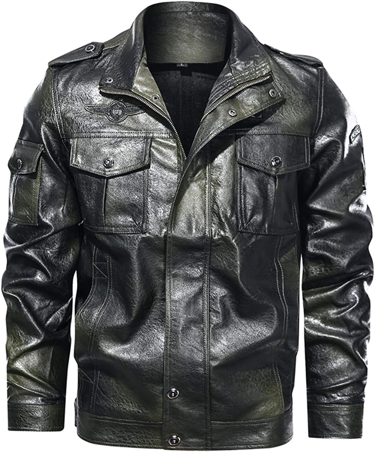 Mens Cool Cafe Racer Jacket Motorcycle Retro Time sale Vintage Distre Indianapolis Mall Moto