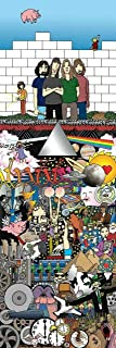 Kinks & Quirks Pink Floyd Canvas by David Gildersleeve