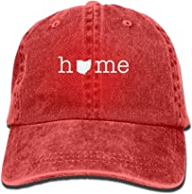 Basball Hat Home in Ohio State Unisex Adult Adjustable Gym Dad Cap