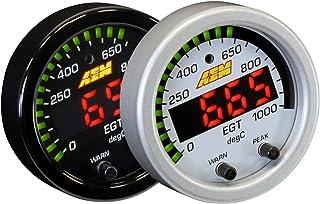 AEM 30-0305 52MM LED EXHAUST GAS TEMPERATURE EGT GAUGE 1800F / 1000C + WHITE KIT
