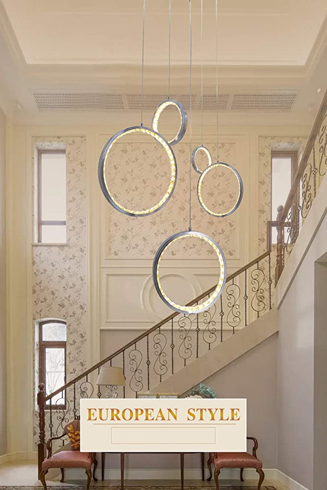 Kuandar chandelier, lampadario di cristallo, classico, led RYYABC324