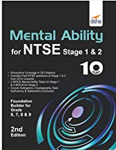 Mental Ability for NTSE & Olympiad Exams for Class 10 (Quick Start for Class 6, 7, 8, & 9) 2nd Edition [eBook]