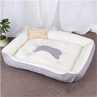 Legowisko dla psa Kennel Soft Dog Puppy Pet Supplies Nest dla małych średnich psów Zimowe ciepłe pluszowe łóżko Dom Wodood...