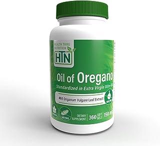 Oil of Oregano 360 Mini-Softgels Non-GMO