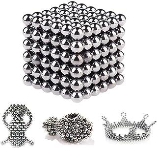 Bola de rompecabezas magnética, Puzzle 3D de Bolas Magneticas de Neodimio, magnético magnético Escultura juguetes para el desarrollo Inteligencia y Alivio del estrés Magnetico Iman 5mm 216 Piezas