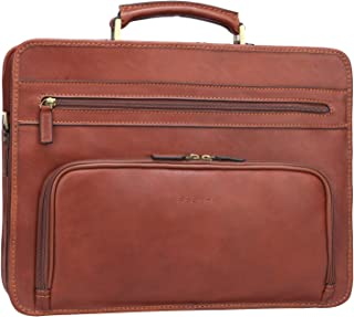Best men's leather attache briefcase Reviews