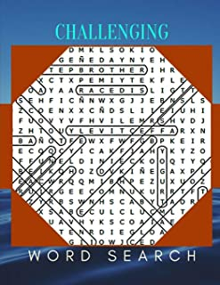 Challenging Word Search: The Everything Word Search Book, Find Puzzles for everyone with Fun Themes! (Word Search Puzzle Books)
