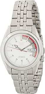 Seiko 5 Men's Mechanical Watch Silver SNK369