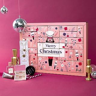Pink Box Adventskalender 2021   Der hippe Beauty Adventskalender für Frauen & Trendsetterinnen im Wert von über 200€