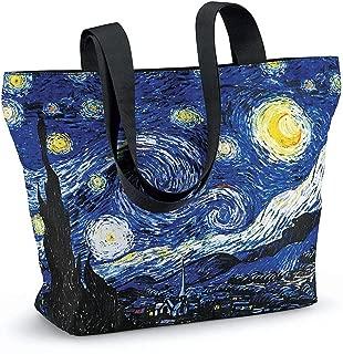 Van Gogh Starry Night Tote Bag - large, 18