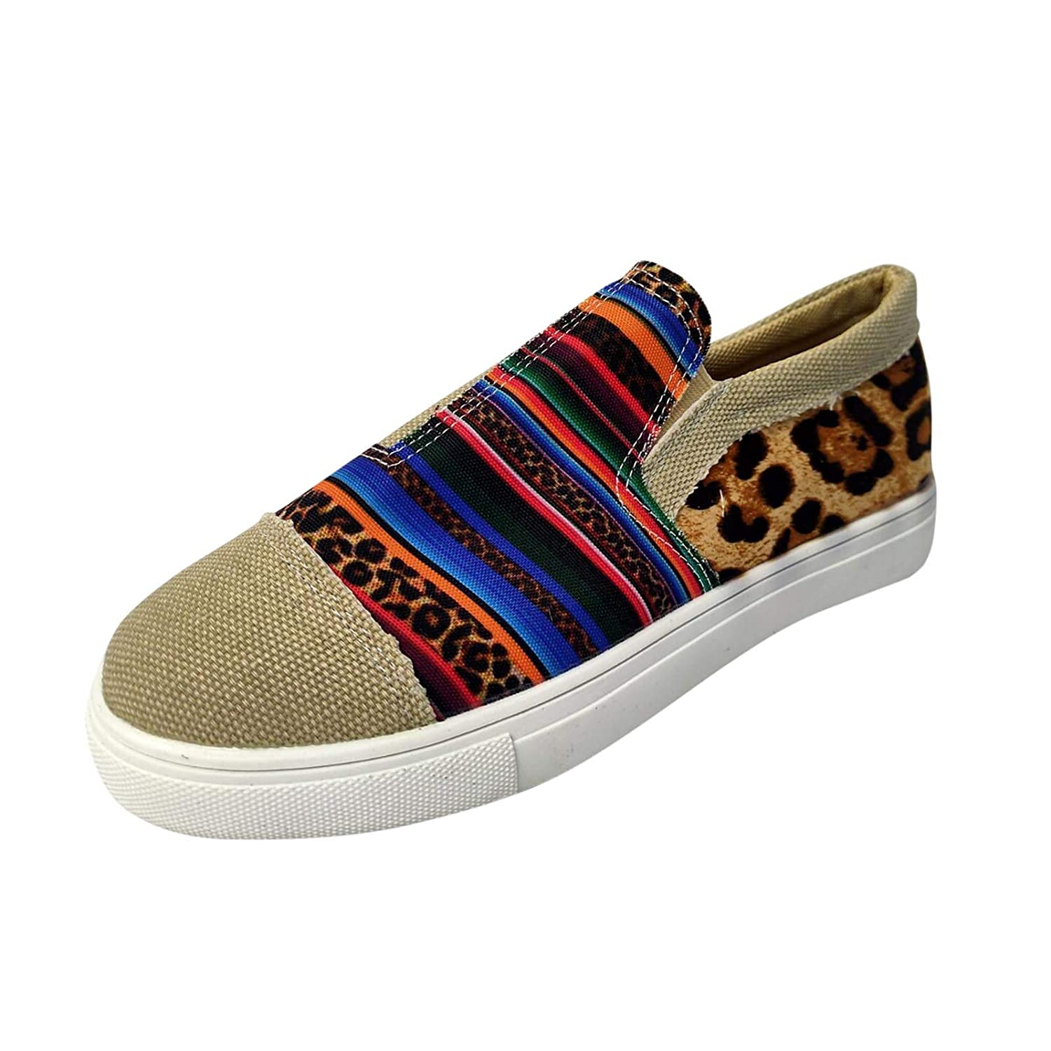 Outlet SALE Women's Canvas Shoes Slip-on Ballet Inventory cleanup selling sale Flats Sneaker Casual Classic