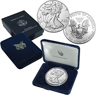 2018 American Silver Eagle Brilliant Uncirculated US Mint Box