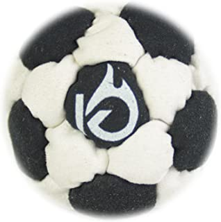 KickFire SuperSacks Sand Filled Hacky Sack 16 Panel Leather Footbag | Bonus Video Quick Start Tips | Best for Kids, Teens and Adults