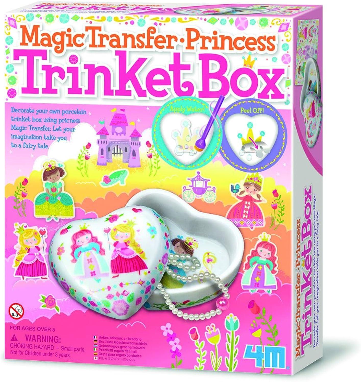 Gadget & Gift Store ideal für für für Kinder über dem Jahre 8 4M Magische Übertragung Prinzessin Schmuckstück Boxen B07HH9L71K | Überlegen  8a2f15