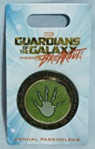 Guardians of the Galaxy Mission:Breakout Disneyland Annual Passholder Exclusive Limited Release Pin May 2017