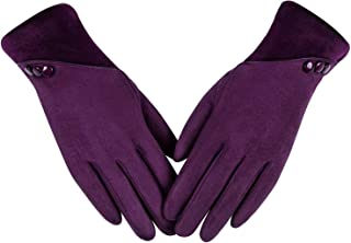 Best Womens Winter Warm Gloves With Sensitive Touch Screen Texting Fingers, Fleece Lined Windproof Gloves Review