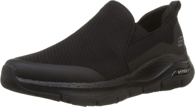 Skechers Arch Fit, Zapatillas sin cordones Hombre
