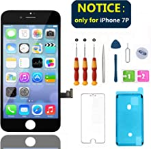 Swgrdin 3D Touch Screen Frame for iPhone 7 Screen Replacement Black 4.7