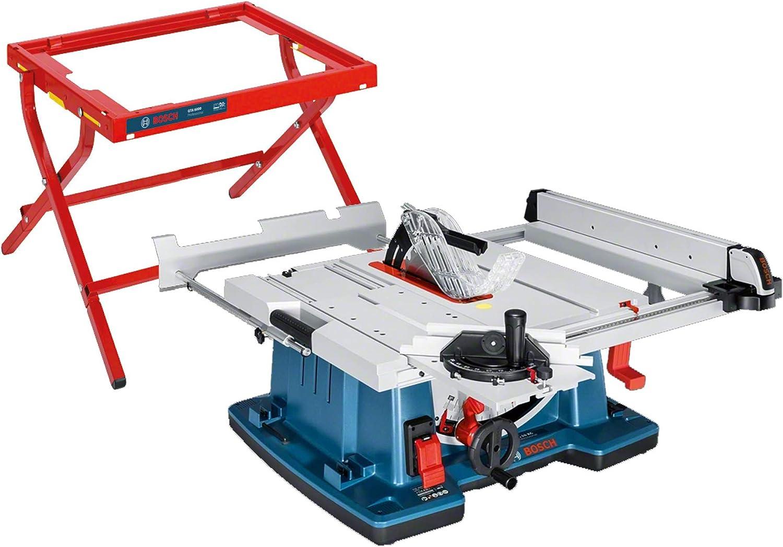 Bosch Professional Bosch Table Saw GTS 6 XC Professional 6EM6, Blue,  Black