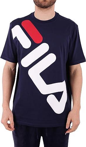 Fila Vintage Homme T-shirt graphique de Kalani, Bleu, X-grand