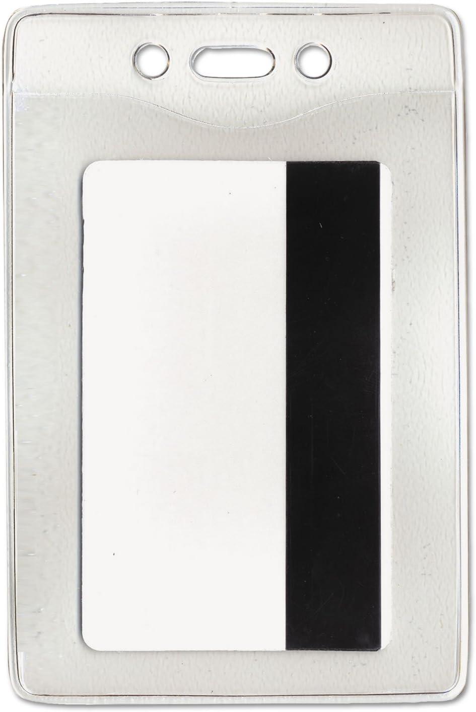 AVT75419 - Under blast sales Advantus Vertical Badge Rare Security Holder
