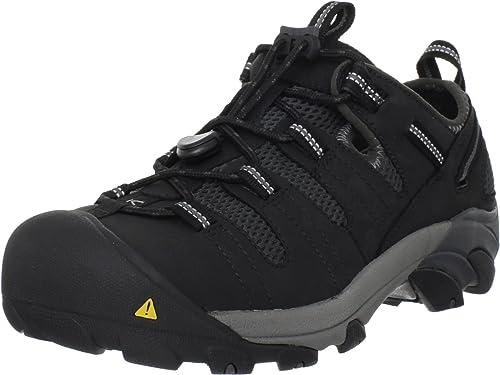 Keen Utility Men's Atlanta Cool Steel Toe Work chaussures,noir,10 EE US