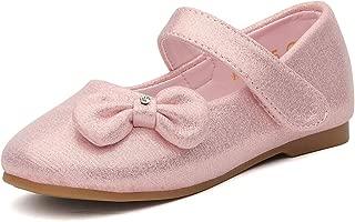 DREAM PAIRS Toddler Girls Dress Ballerina Mary Jane Flats Shoes