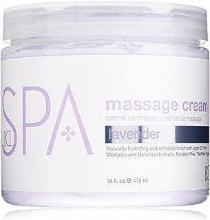 BCL SPA Massage Cream Lavender + Mint,16 oz