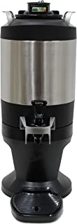Wilbur Curtis Thermal Coffee Dispenser (1.5 GALLON) with TFT Technology - Made for ThermoPro Coffee Brewers - Commercial Coffee and Beverage Dispenser - TFT15G (Each)