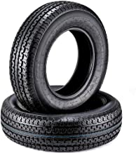 2 Premium Trailer Tires ST 205/75R15 Radial Tires 205 75R15 8PR Load Range D w/Scuff Guard