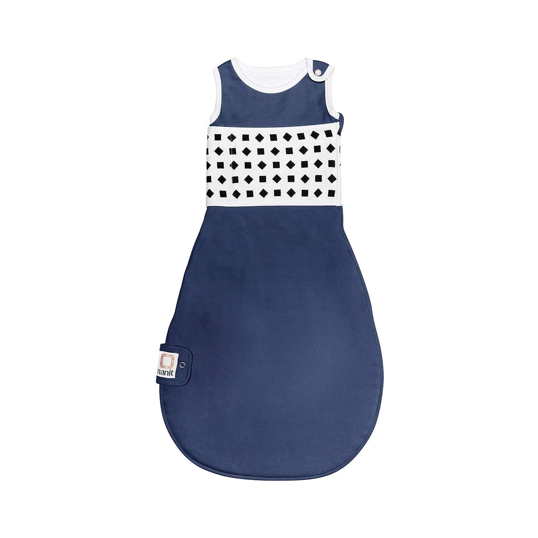 Nanit Breathing Wear Sleeping Bag 1pk, Size Small 3-6 Months - Midnight