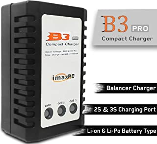 iPo 2-3S Battery Balancer Charger 7.4-11.1V RC B3AC Pro Compact Charger