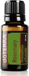 doTERRA - Rosemary Essential Oil - Supports Healthy Digestion and Respiratory Function, Helps Reduce Nervous Tension and Occasional Fatigue; for Diffusion, Internal, or Topical Use - 15 mL