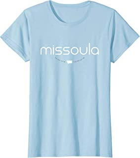 Missoula Montana Women's T Shirt