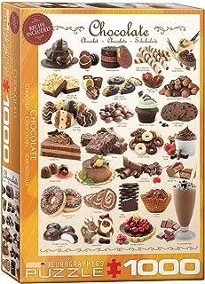 EUROGRAPHICS Chocolate 1000-Piece Puzzle (EUROPZ-0411)
