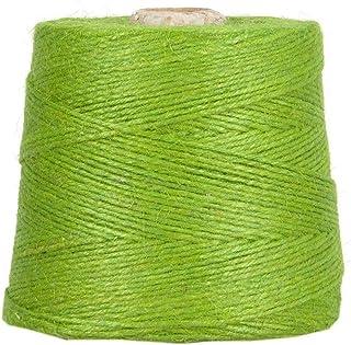 Jutegarn, Grün, 1 kg, ca. 500 m Juteschnur, 100% Jute auf Pappspule